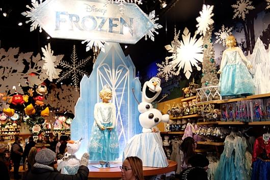 クリスマス前のNYのディズニー・ストアに行ってみました_b0007805_96224.jpg