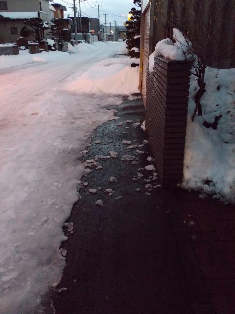 気温が上がり、積雪が下がる_c0025115_22001299.jpg