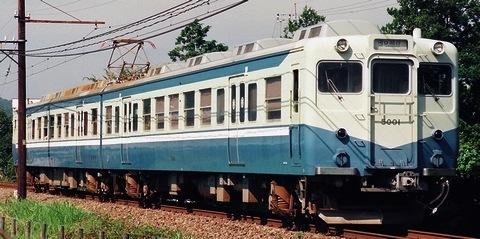 富士急行 5000形 モハ5002+モハ5001_e0030537_201875.jpg