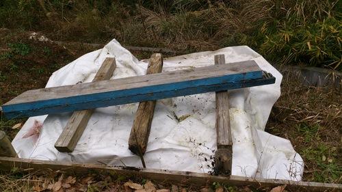 落ち葉堆肥 作ってみた_c0331145_22152634.jpg