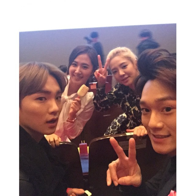 Key ' Hyoyeon Instagram ' // 141220 : ME?...SHINee!  Key ' Hyoye...