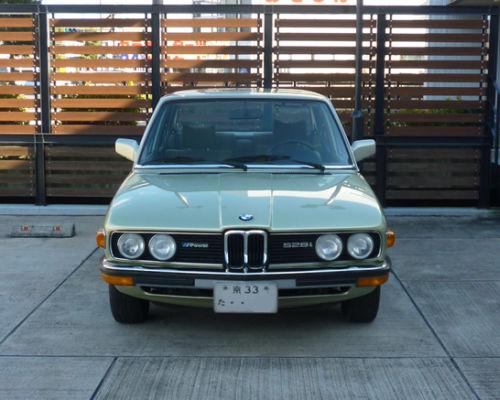 珍しい訪問者 クルマ編4 BMW 528iA_e0254365_1505589.jpg