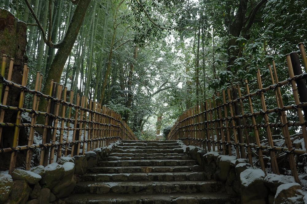 雪景色 京都 <詩仙堂>_f0021869_1361083.jpg