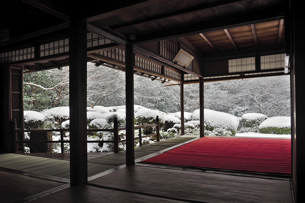 雪景色 京都 <詩仙堂>_f0021869_1364189.jpg