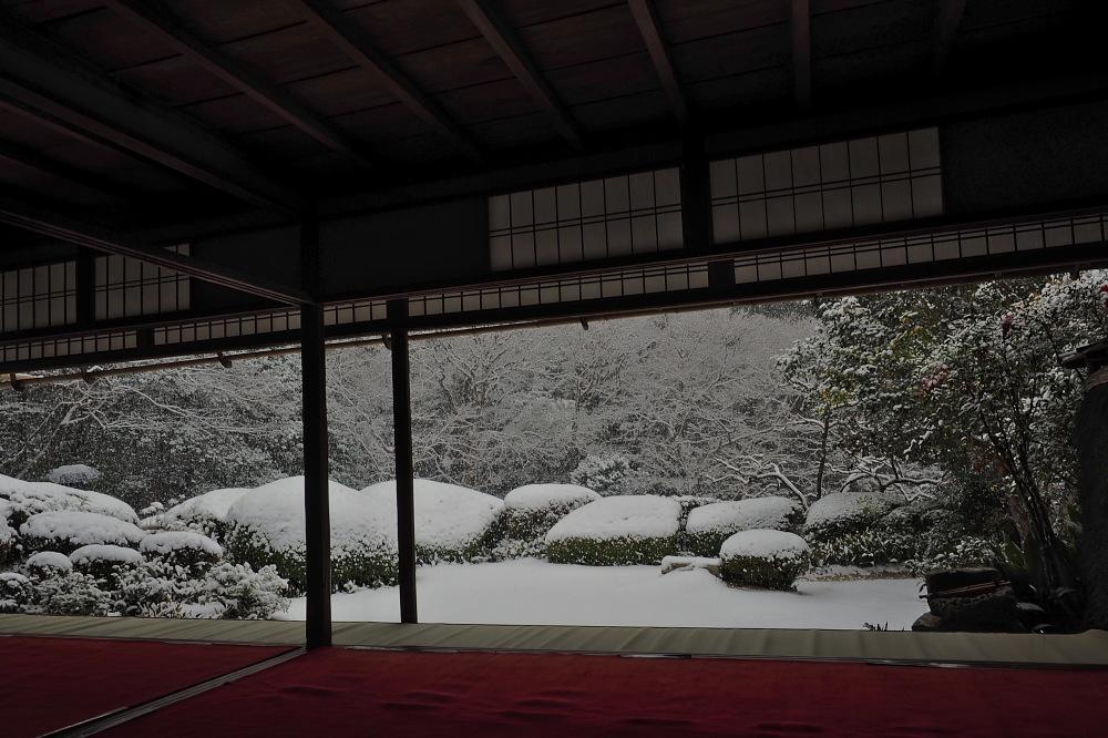 雪景色 京都 <詩仙堂>_f0021869_1371732.jpg