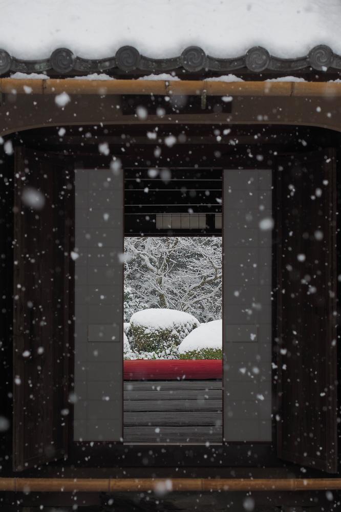 雪景色 京都 <詩仙堂>_f0021869_1391941.jpg