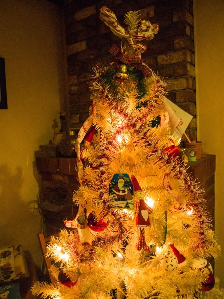 """今年もカンタベリーの""""白いクリスマスツリー""""が点灯しました。_f0276498_18445974.jpg"""