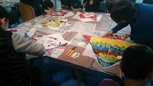 昔遊び「凧作り教室」を開催しました  2014年12月20日_b0228113_13032009.jpg