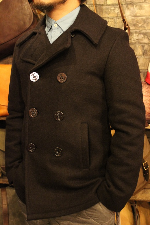 "FIDELITY ""22oz MEDIUM PEA COAT\"" ご紹介_f0191324_950155.jpg"