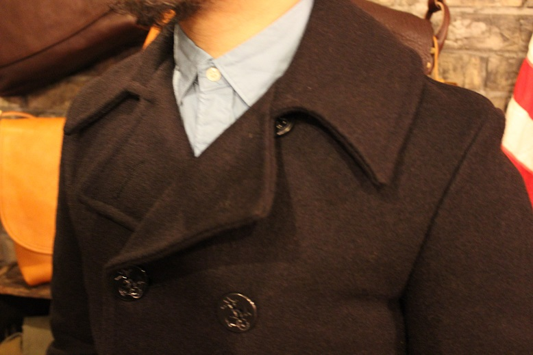"FIDELITY ""22oz MEDIUM PEA COAT\"" ご紹介_f0191324_950224.jpg"