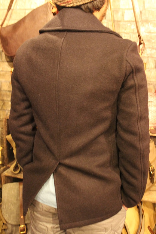 "FIDELITY ""22oz MEDIUM PEA COAT\"" ご紹介_f0191324_950318.jpg"