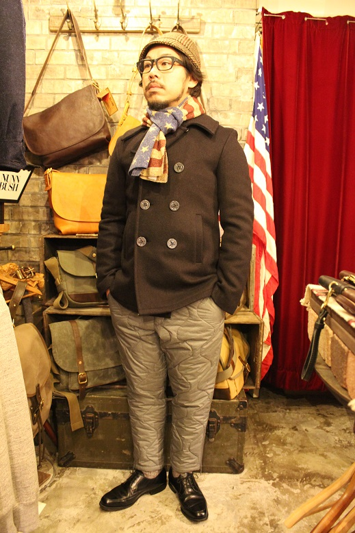 "FIDELITY ""22oz MEDIUM PEA COAT\"" ご紹介_f0191324_9505049.jpg"