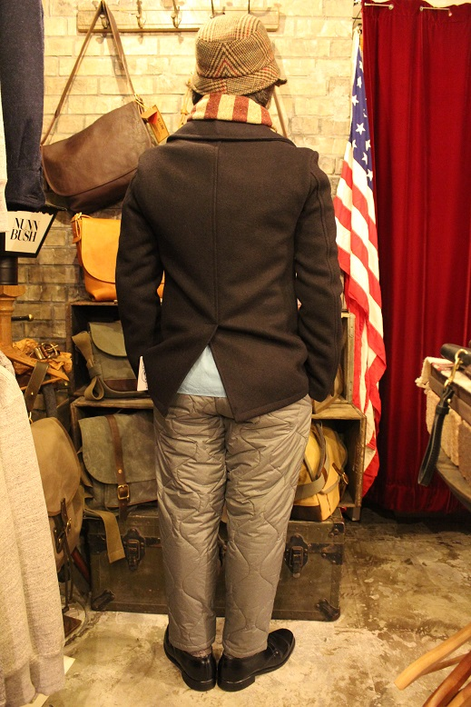 "FIDELITY ""22oz MEDIUM PEA COAT\"" ご紹介_f0191324_9505752.jpg"