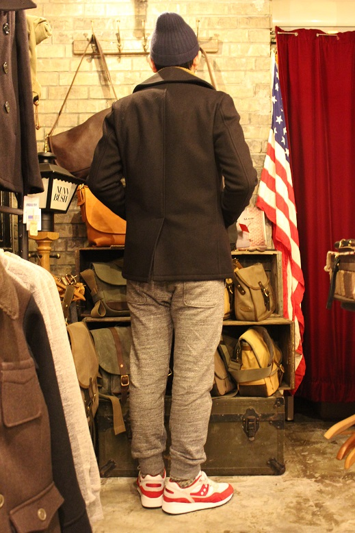 "FIDELITY ""22oz MEDIUM PEA COAT\"" ご紹介_f0191324_9511016.jpg"