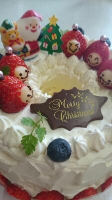 本日もクリスマスケーキなり♪_a0113430_21451636.jpg