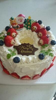 本日もクリスマスケーキなり♪_a0113430_21451820.jpg
