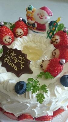 本日もクリスマスケーキなり♪_a0113430_21462142.jpg