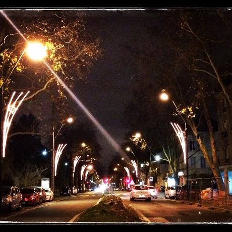 metro, fête, végétarien en indien - クリスマス、パリのメトロとインド人街_a0231632_17483215.jpg