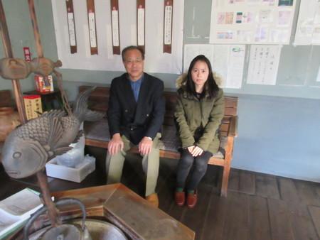 館長と張さん_b0204636_1610991.jpg