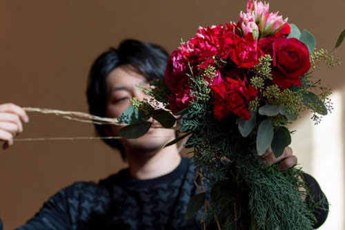 Shu Onodera パーティー装飾デモンストレーション&ノエルパーティー_f0127281_13594741.jpg