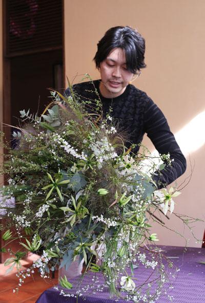 Shu Onodera パーティー装飾デモンストレーション&ノエルパーティー_f0127281_1414793.jpg