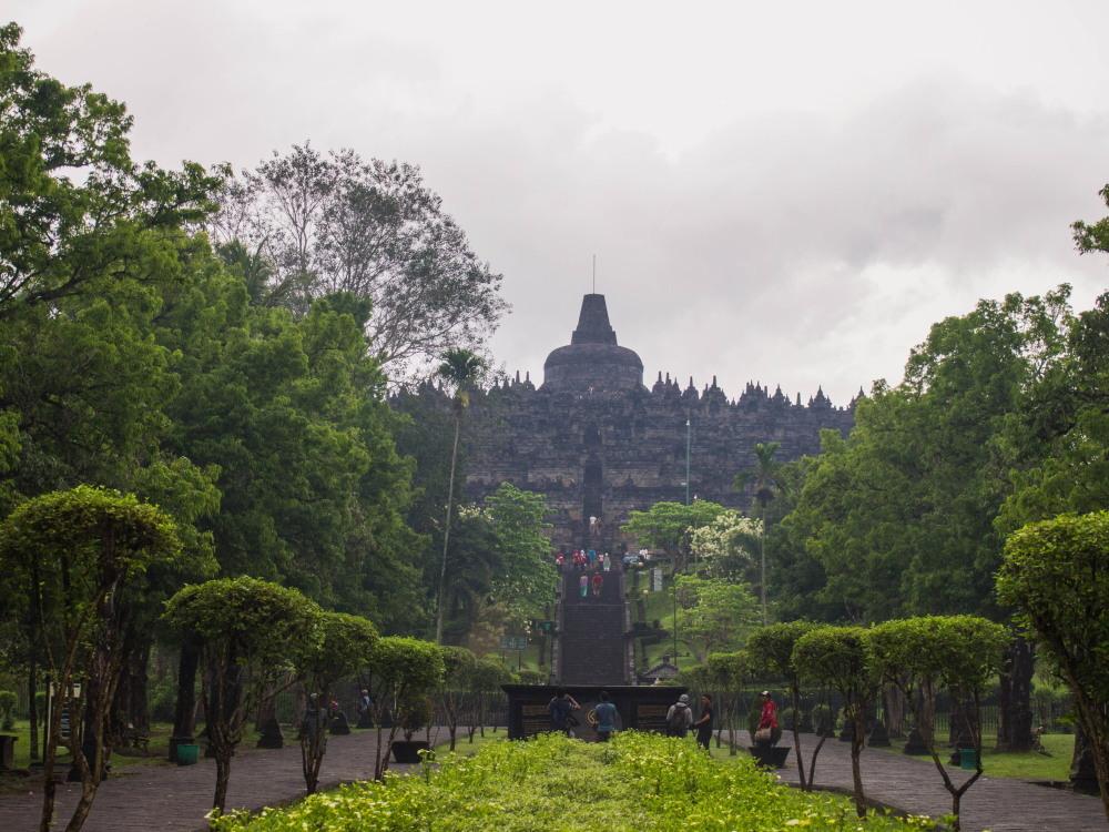 2014ジャワ島バリ島シンガポールvol.4~世界一の仏教遺跡ボロブドゥール~_f0276498_18331683.jpg