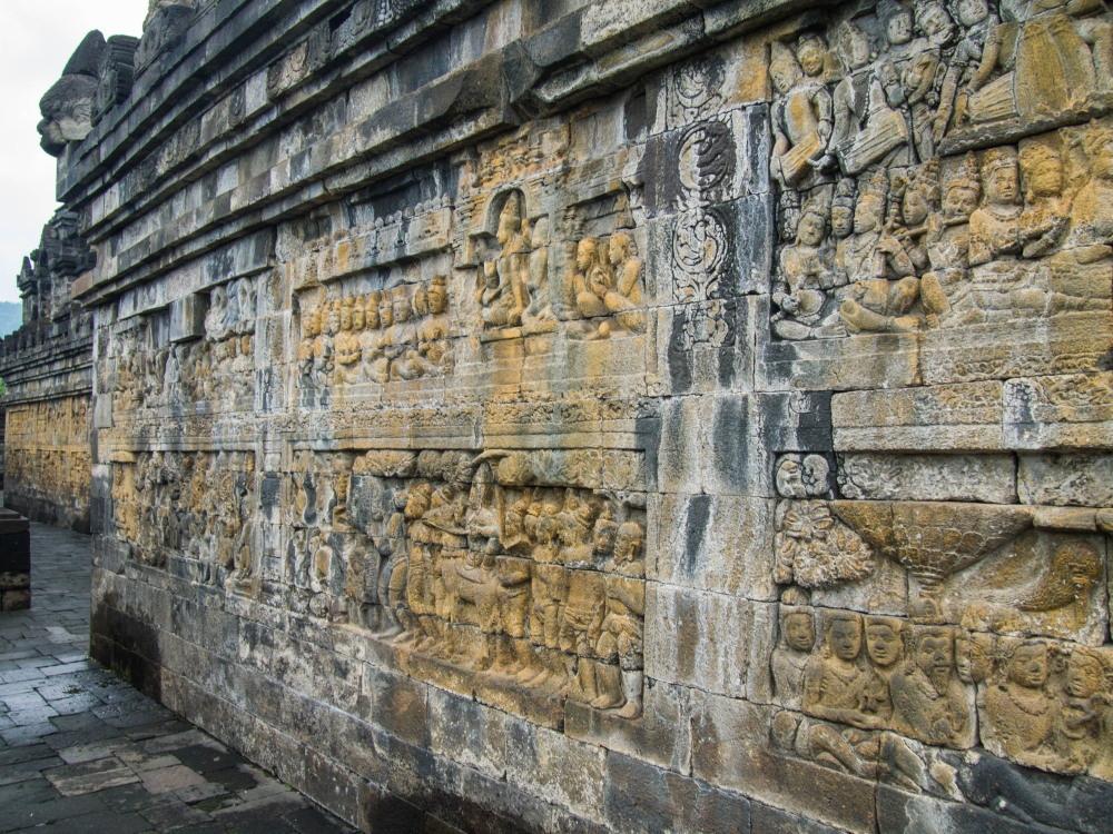 2014ジャワ島バリ島シンガポールvol.4~世界一の仏教遺跡ボロブドゥール~_f0276498_18334947.jpg