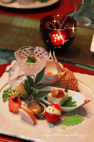 和食でクリスマスパーティー ~ふるさと納税返礼品~_a0264538_00590408.jpg