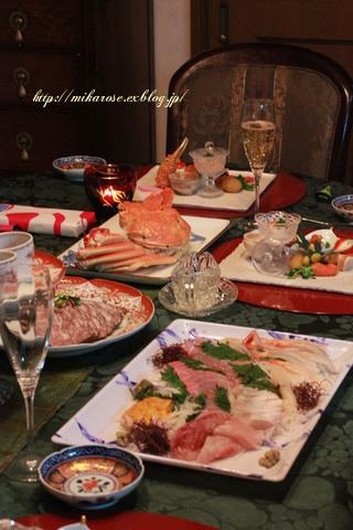 和食でクリスマスパーティー ~ふるさと納税返礼品~_a0264538_01144325.jpg