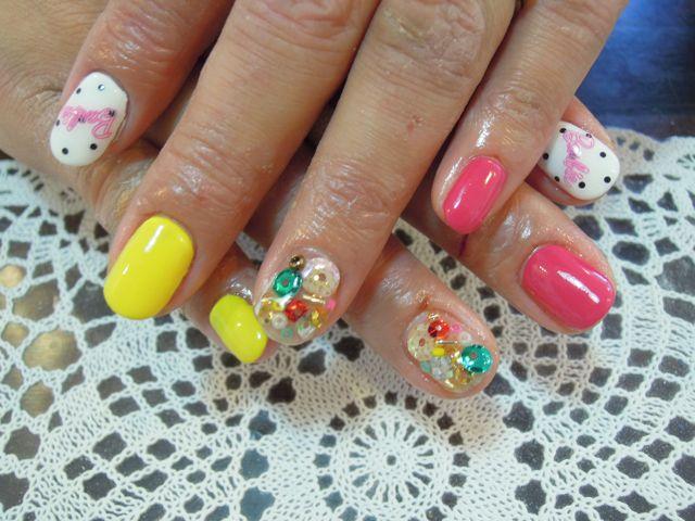 Barbie Nail_a0239065_104888.jpg