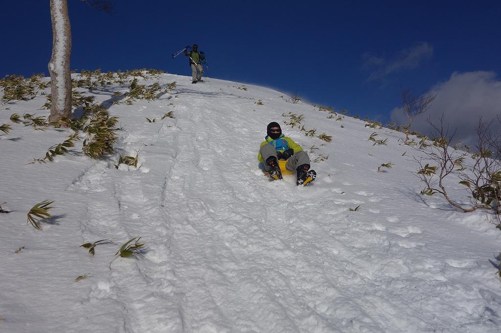 イチャンコッペ山と幌平山、12月21日-下山編-_f0138096_22504396.jpg