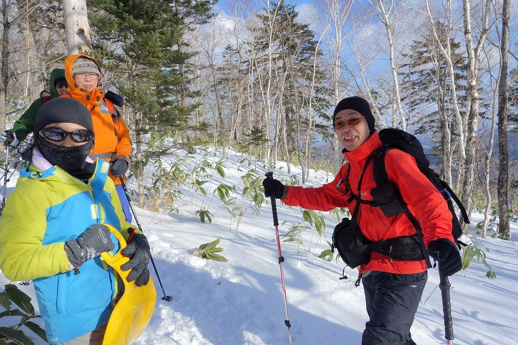 イチャンコッペ山と幌平山、12月21日-下山編-_f0138096_225052100.jpg