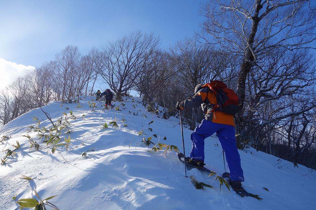 イチャンコッペ山と幌平山、12月21日-下山編-_f0138096_22512574.jpg
