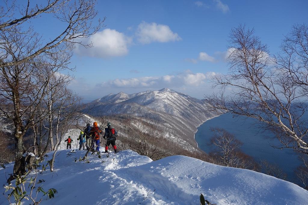 イチャンコッペ山と幌平山、12月21日-下山編-_f0138096_22514056.jpg