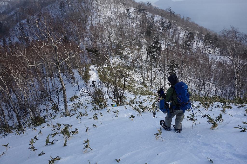 イチャンコッペ山と幌平山、12月21日-下山編-_f0138096_22515081.jpg