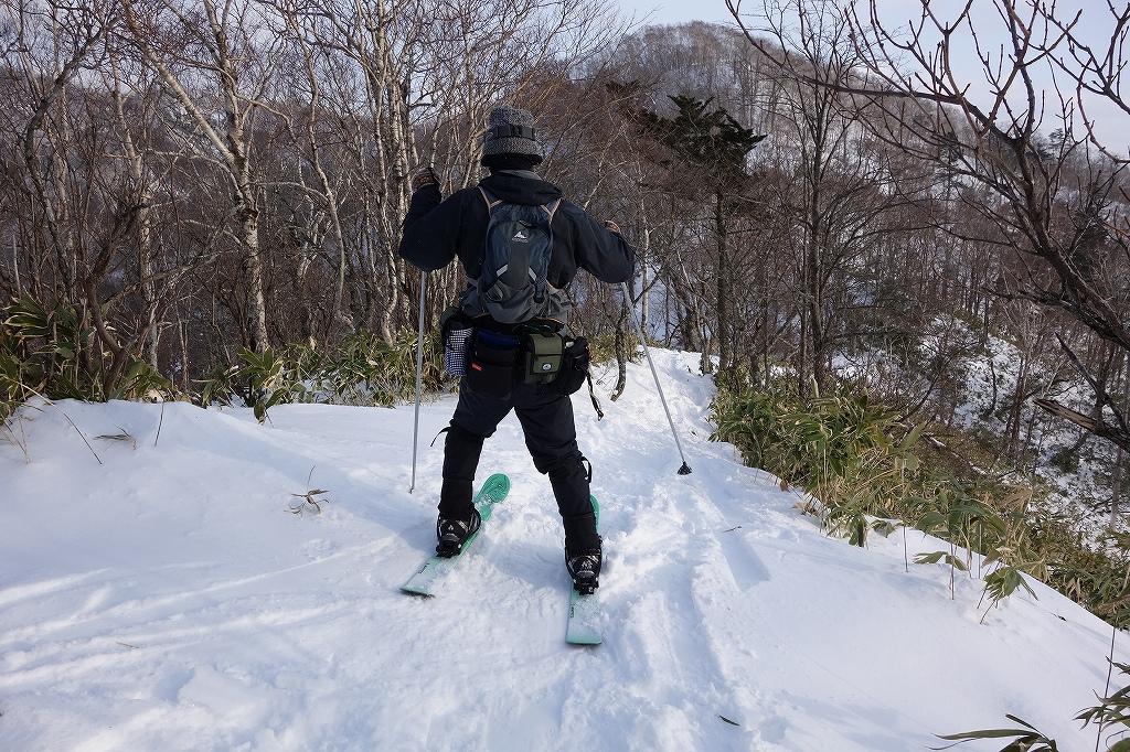 イチャンコッペ山と幌平山、12月21日-下山編-_f0138096_2252021.jpg