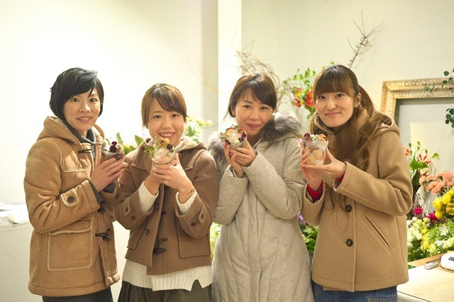 2014.12.21  OHANA candle WORKSHOP_f0139898_1645191.jpg