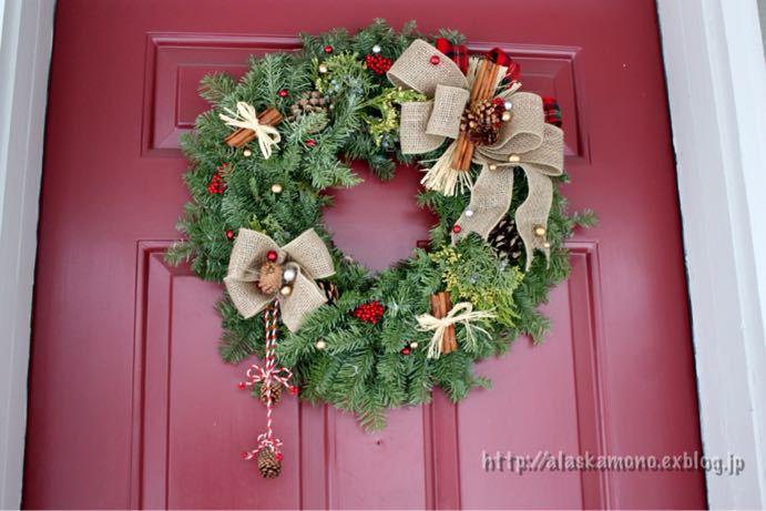 クリスマスリース_a0088116_13125812.jpg