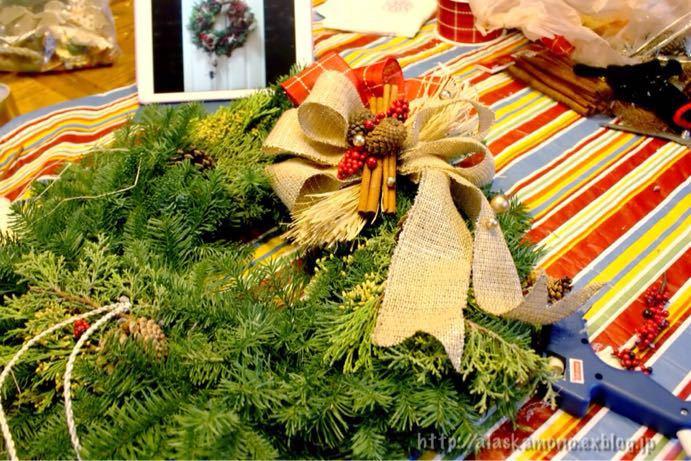 クリスマスリース_a0088116_13125838.jpg