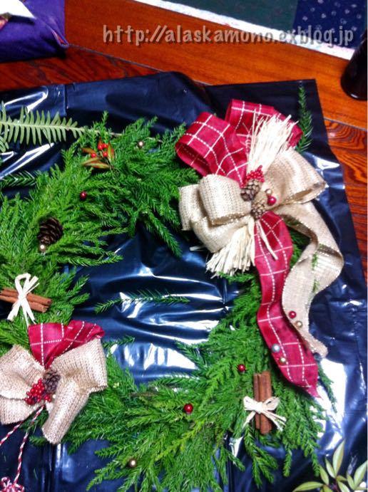 クリスマスリース_a0088116_13125914.jpg