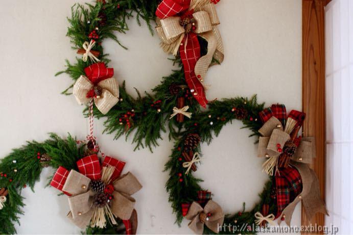 クリスマスリース_a0088116_13125971.jpg