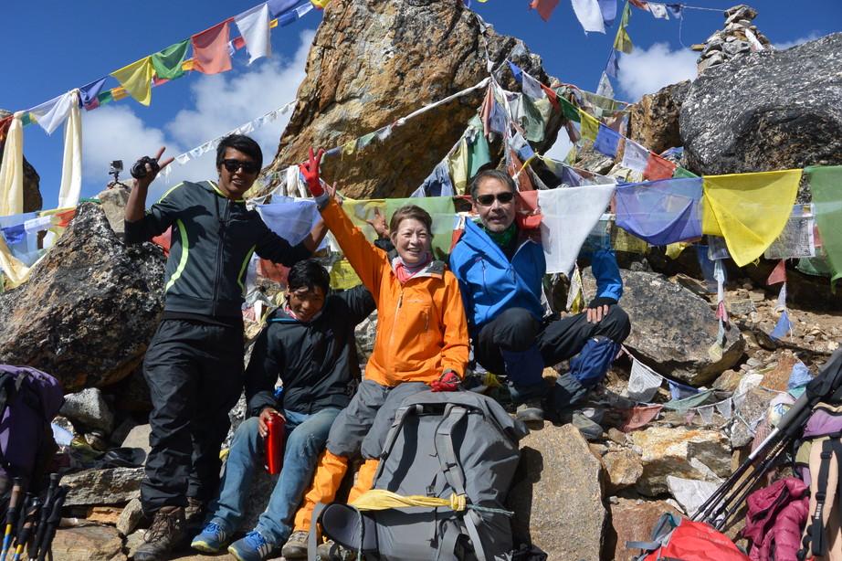 """2014年10月 『エヴェレスト・三峠越えトレッキング』 October 2014 \""""Three Pass Crossing in Everest\"""" _c0219616_21273594.jpg"""
