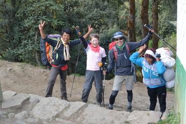 """2014年10月 『エヴェレスト・三峠越えトレッキング』 October 2014 \""""Three Pass Crossing in Everest\"""" _c0219616_2294595.jpg"""