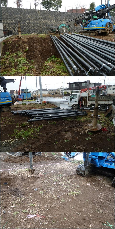 綾瀬市の家☆地盤改良工事終了_c0152341_1624585.jpg