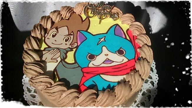 妖怪ウォッチケーキ ケイゾウとフユニャン 幸せなトカゲ おもに