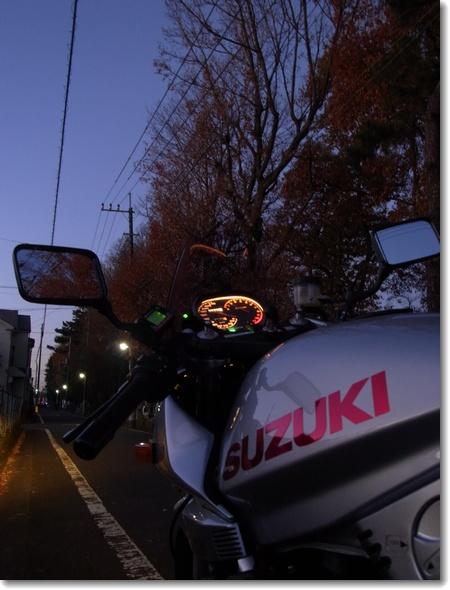 2014年、カタナの乗り納め_c0147448_16495261.jpg
