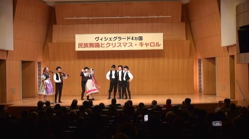「V4+日本」 ~民族舞踊とクリスマス・キャロル~_b0043954_00450962.jpg