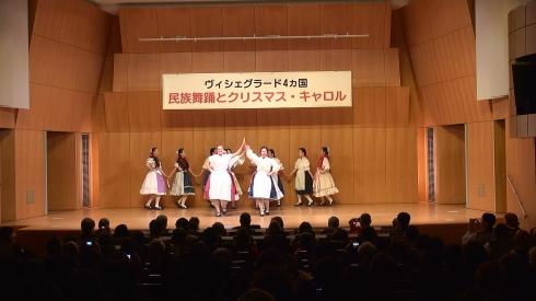 「V4+日本」 ~民族舞踊とクリスマス・キャロル~_b0043954_00451947.jpg