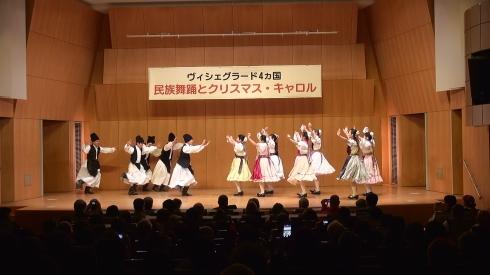「V4+日本」 ~民族舞踊とクリスマス・キャロル~_b0043954_00454785.jpg