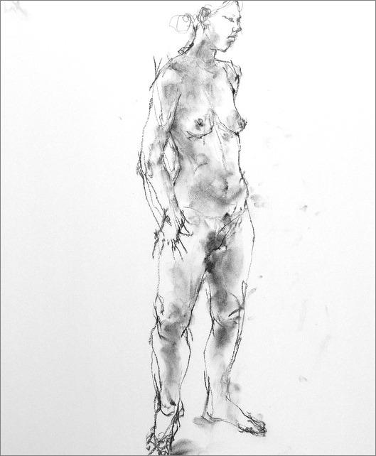 《 クロッキー(croquis)する。Ⅳ ・・・ 「裸婦素描」》 _f0159856_10253685.jpg